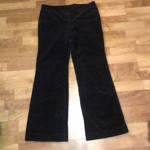 Boden Black Bootcut Corduroy Pants - 14R